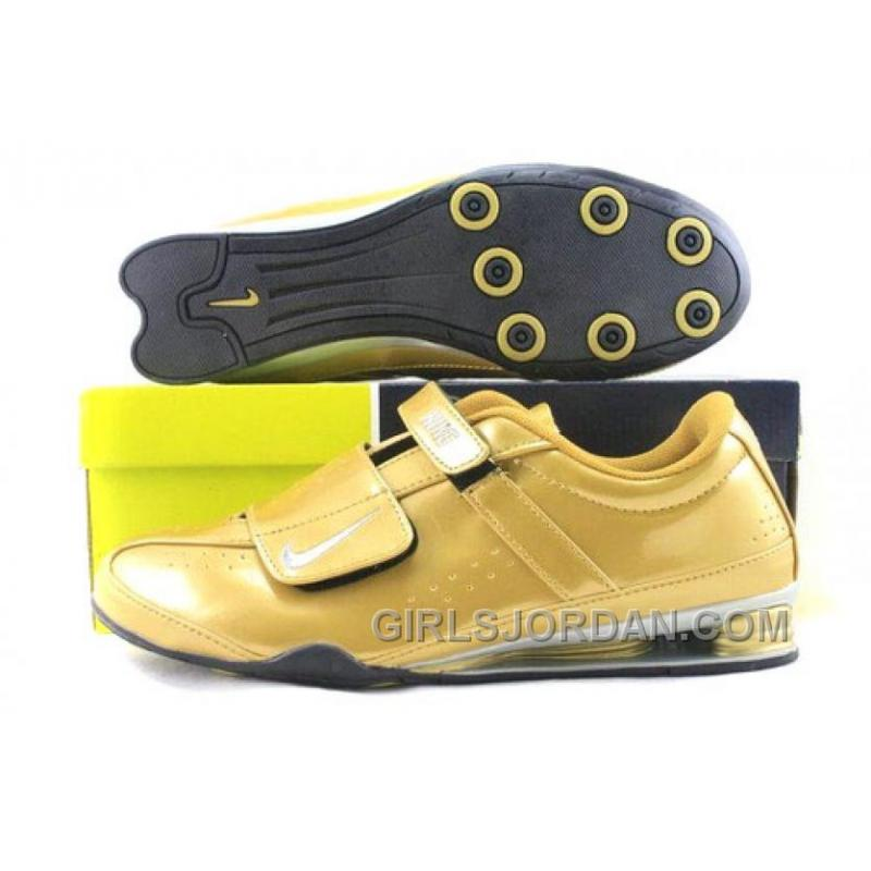 bas prix 13796 840cb Men's Nike Shox R3 Shoes Golden/Grey/Black Online