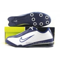 Men's Nike Shox R3 Shoes Navy/White Top Deals