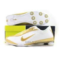 Men's Nike Shox R3 Shoes White/Gold New Release