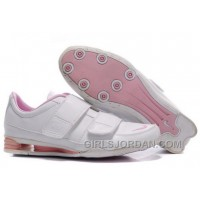 Women's Nike Shox R3 Shoes White/Light Pink Top Deals
