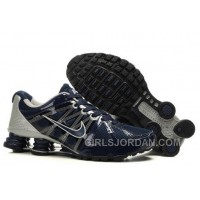 Men's Nike Airmax 2009 & Shox R4 Shoes Navy/Metallic Platinum New Release