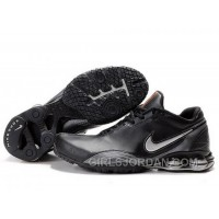 Men's Nike Shox R5 Shoes Black/Dark Grey Free Shipping