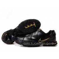 Men's Nike Shox R5 Shoes Black/Golden For Sale