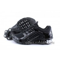 Men's Nike Shox R5 Shoes Black/Grey Lastest