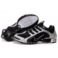 Men's Nike Shox R5 Shoes Black/White Free Shipping