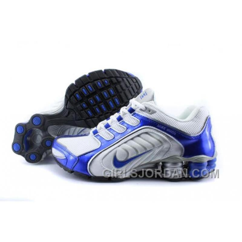0fefc3834c3 Men s Nike Shox R5 Shoes Dark Blue White Grey Cheap To Buy