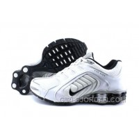 Men's Nike Shox R5 Shoes White/Grey/Black Super Deals