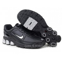 Men's Nike Shox R6 Shoes Black/Grey Top Deals