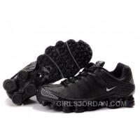 Men's Nike Shox TL Shoes Black Lastest