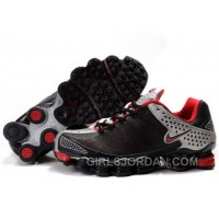 Men's Nike Shox TL Shoes Black/Red/Silver New Release