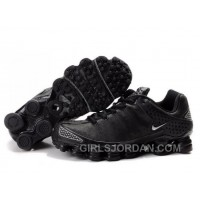 Women's Nike Shox TL Shoes Black New Release