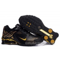 Men's Nike Shox Torch Shoes Black/Gold/Brilliant Gold Online