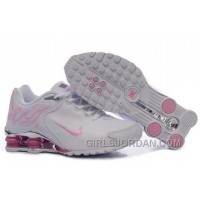 Women's Nike Shox Rch Shoes White/Light Pink/Brilliant Silver Cheap To Buy