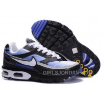 Men's Nike Shox TR Shoes Black/White/Blue Online