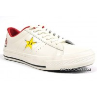 Mario Bros.x Converse One Star 40+1C678 (31) White Super Deals