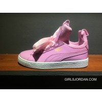 Puma X Fenty The Creeper Butterfly Womens Pink White New Release