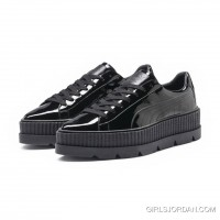 FENTY MENS POINTY CREEPER PATENT Puma Black For Sale