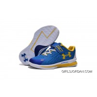 Under Armour Kids Blue White Shoes Online