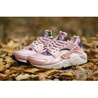 NIKE Huarache 1 Women Shoes Pink Flowers Cheap To Buy