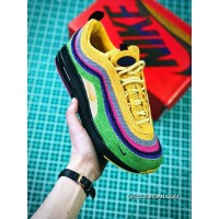 New Year Deals Women Sean Wotherspoon Nike Air Max 97 Hybrid SKU:166131-251