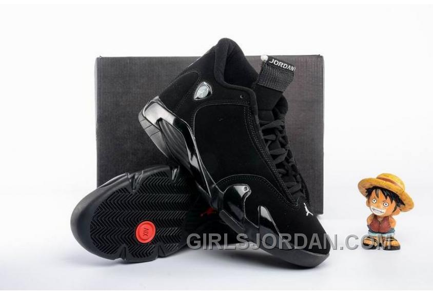 2017 Mens Air Jordan 14 All Black Shoes For Sale Discount