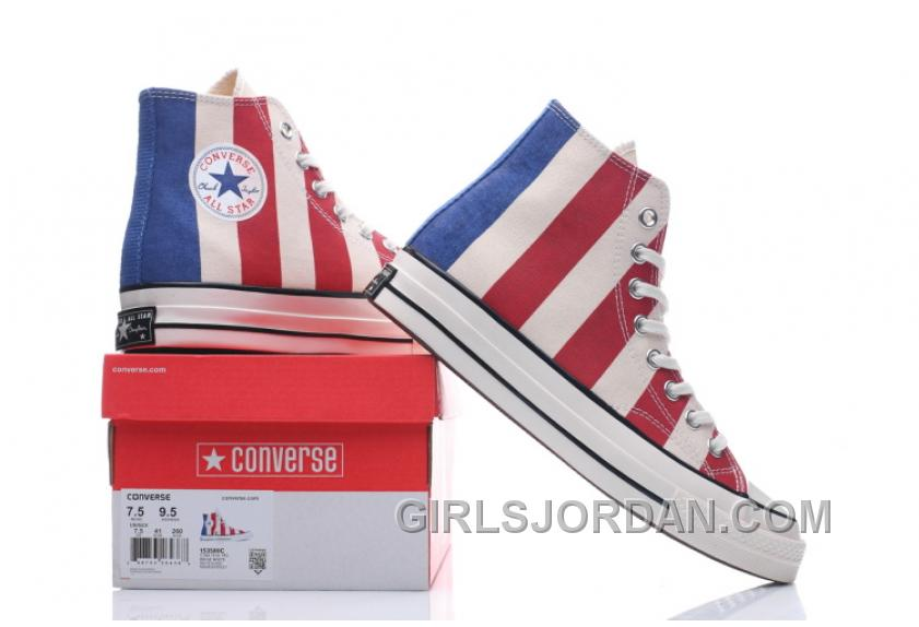 Converse 2017 Chuk Taylor All Star 1970s 1970S 153850C Women/men American Flag Super Deals