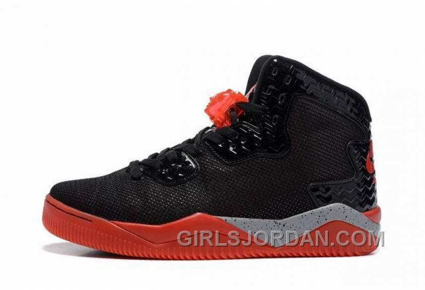 "Mens Jordan Air Spike 40 Forty PE ""Bred"" Free Shipping"