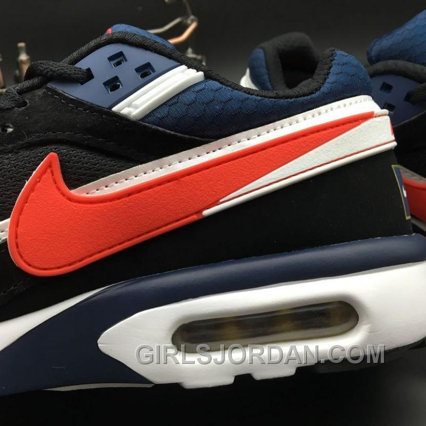 Nike Air Max Premium BW 819523-064 Black Navy Blue Red Online