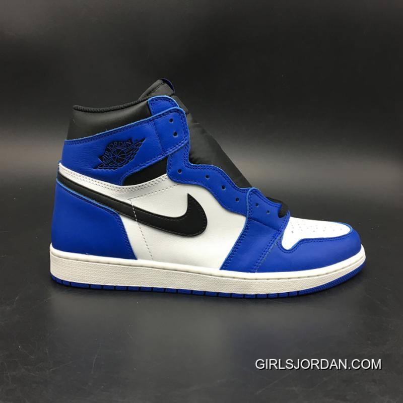 3092349d246af0 USD  95.19  314.11. Jordan 1 Air 1 Retro High OG Game Royal White Blue SKU  555088-403 ...