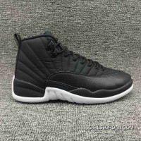 8f86a612db617e Top Deals Jordan Air Aj12 Also Shoes Men Shoes Are The 12 Black Nylon  Waterproof Nylon
