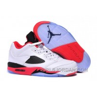 """cheap for discount a2d7a 88dbc 2017 Mens Air Jordan 5 Low """"Fire Red"""" For Sale Cheap To Buy"""