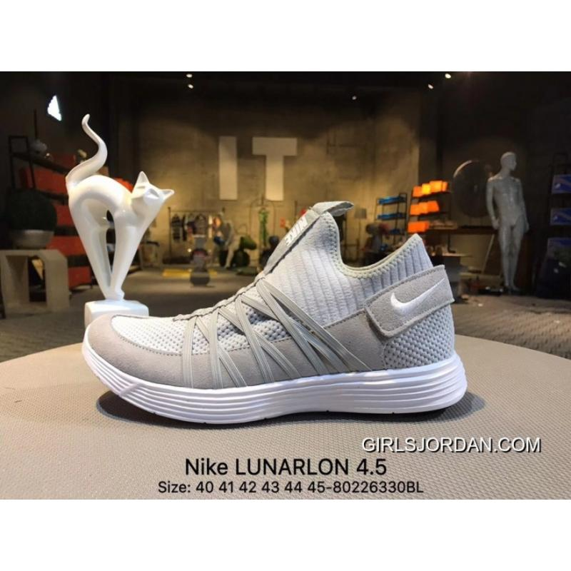 ... Copuon Nike LUNARLON 4.5 Spring New Casual Jogging Shoes 852645 001  Size-80226330BL ...