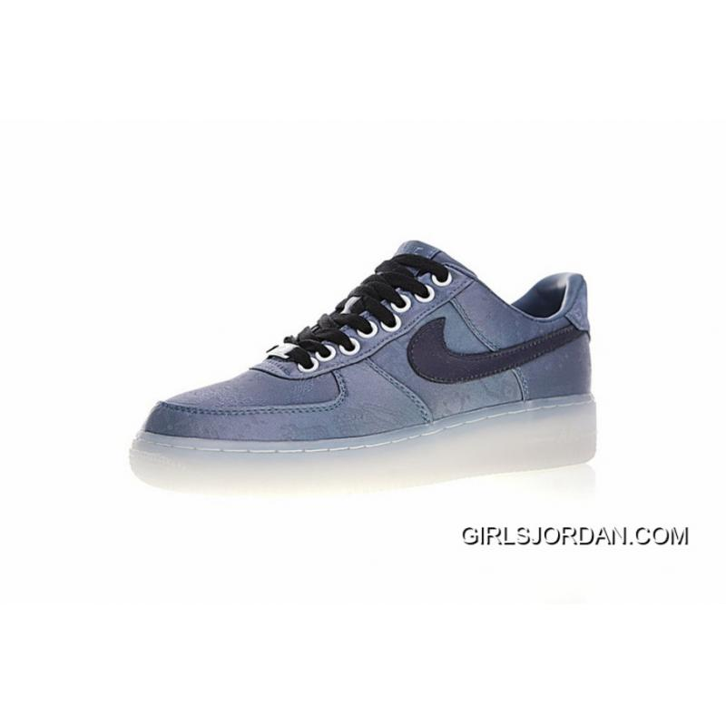 168013546b9 Women Shoes And Men Shoes With YOSOU Clothing Brand Blue Dye Custom To Be CLOT  X Nike Air Force 1 Classic One All-match Sneakers Blue Dye The Silk ...