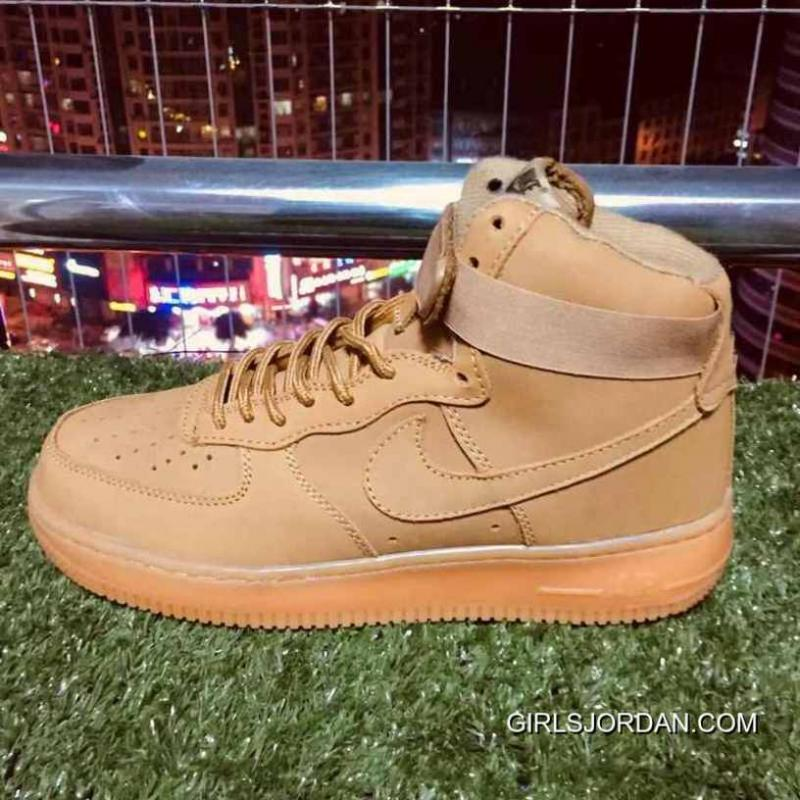 Nike Air Force One 1 Elk Skin Af1 Wheat Color 882096-200 New Style ... 96677c906