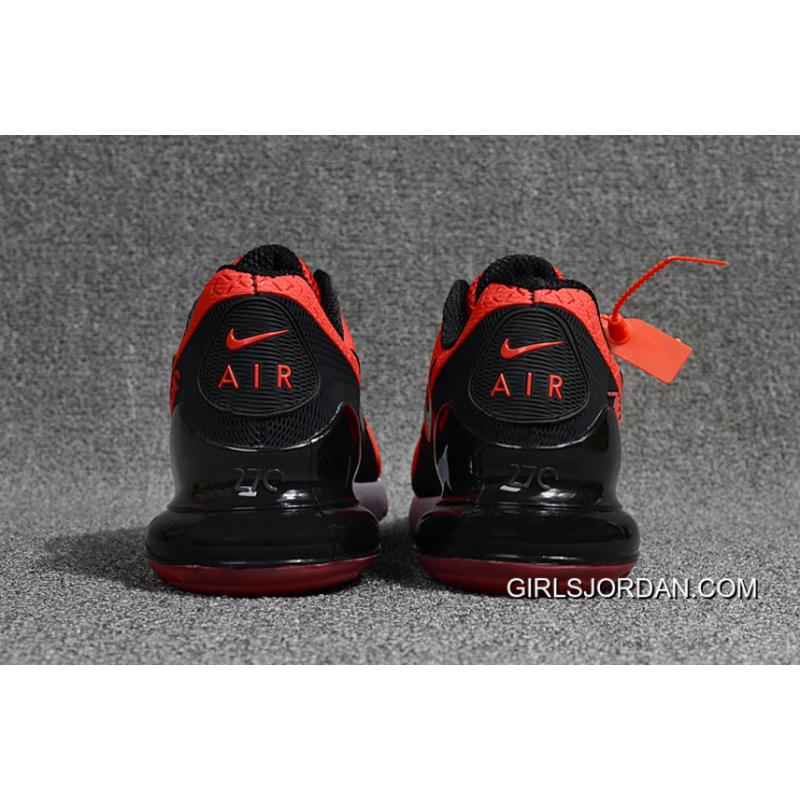 04b38f0363 ... Nike Air Max Flair 270 2 Nanotechnology Plastic Zoom Red Black New  Release ...