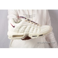 5f2d29f23d87 Nike Air Max 95 Essential OG Retro Zoom Running Shoes White Copuon