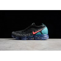 27617b79ea Latest 2018 2 Zoom Air Nike Air VaporMax Flyknit Black White Red Cactus  Grey Punch 942842