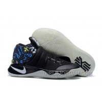 Nike Kyrie 2 Black/Multi-Color Mens Basketball Shoes Cheap To Buy