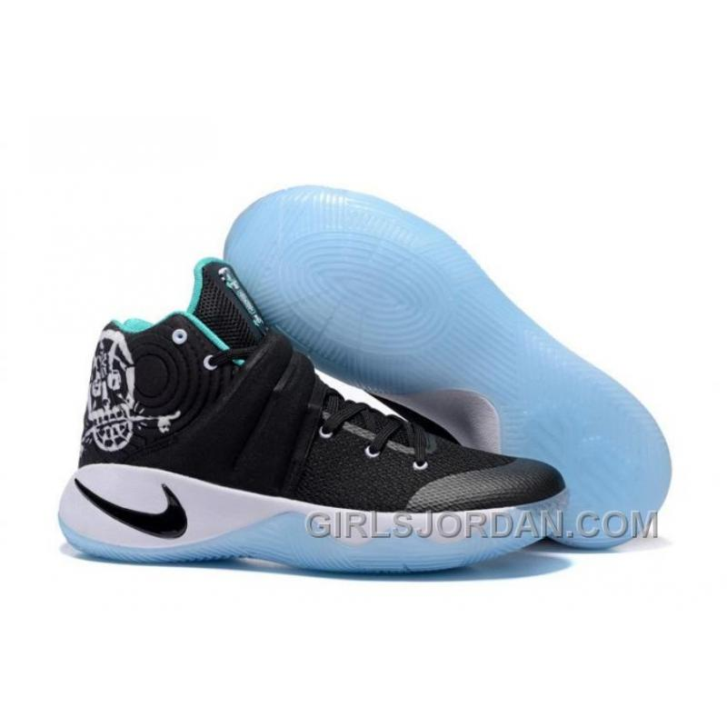 """detailed look 1398e cbcf9 Nike Kyrie 2 """"Court Deck"""" Mens Basketball Shoes Authentic"""