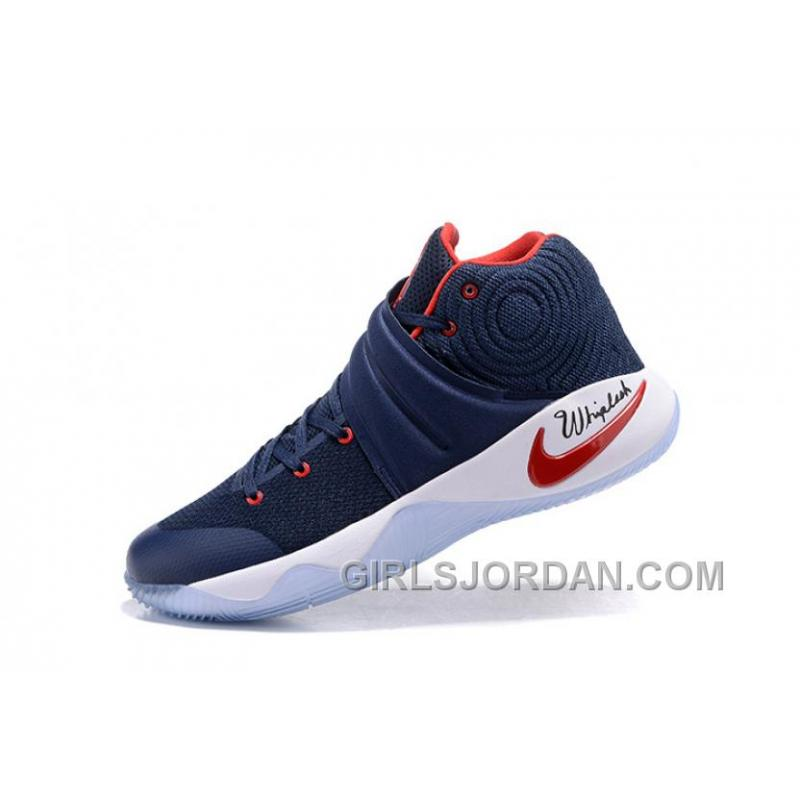 ... Nike Kyrie 2 Dream Team Blue Red White Mens Basketball Shoes Lastest ...