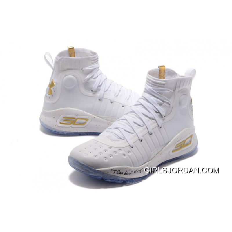 half off 092c4 5deef Under Armour Curry 4 Basketball Shoes White Cheap To Buy