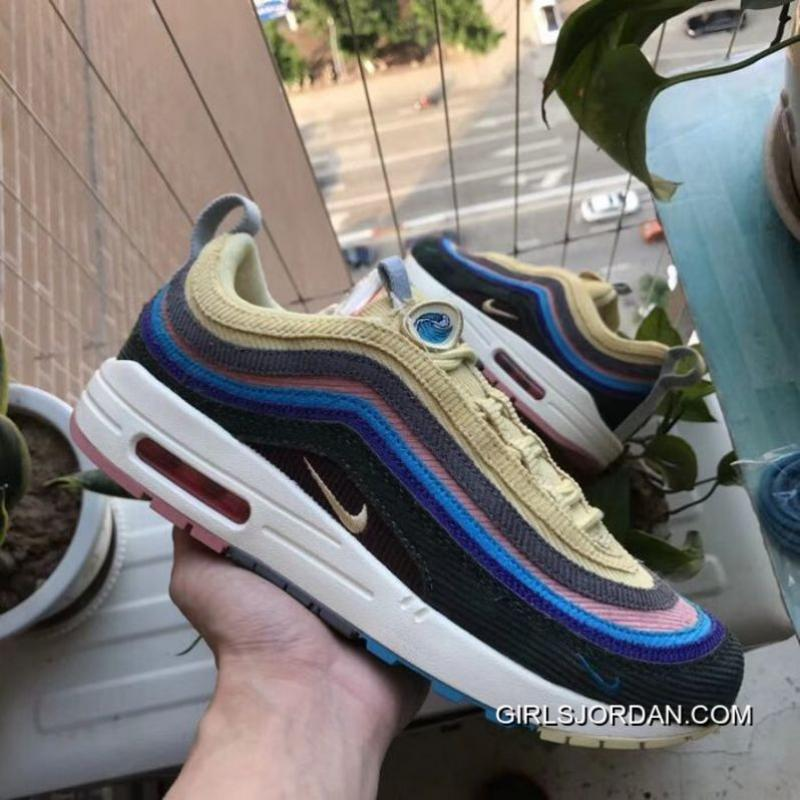 9c8ae804b3 USD $111.07 $344.32. Women Nike Air Max 1/97 Sean Wotherspoon For Sale ...